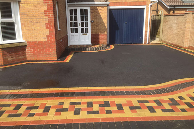 New Block Paving Driveway Monkspath